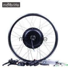 MOTORLIFE/OEM HOT SALE CE pass e bike conversion kit/electric bike kit/bicycle engine kit