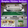 Automatic sealing machine can seal plastic bag,food bag,parper bage etc