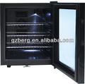 china 35l hotel mini frigobar com porta de vidro