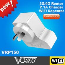 2014 VONETS VRP300 tenda 3g150b 3g wireless router