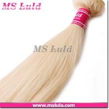 100% raw human hair european blonde color hair