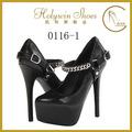 16 cm pompa tacco alto scarpe per le donne