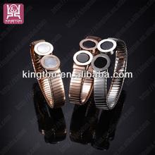 factory outlet price 22k gold brand name engraved bracelet
