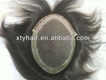 Human hair new man hair pieces men's toupee men's hairpieces