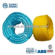 LR Approvaled polypropylene rope specification