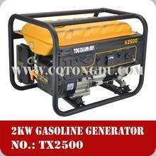 Low Noise Big Power Honda type Gasoline Generators 2kw 2500