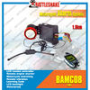 FM LCD DC 12V motorcycle anti-hijack alarm system two way