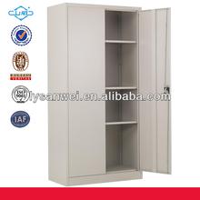 2014 venta caliente mueblesdeoficina 2 puerta de metal del gabinete de presentación