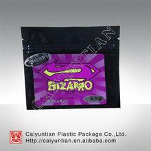 Popular and best selling bizarro zenbio herbal incense bags
