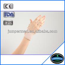 hinged neoprene plastic wrist brace