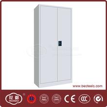 Light grey filing storage double door base cabinet for sale