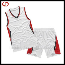 Cheap reversible dry fit basketball uniforms
