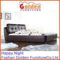 Design de móveis de madeira sólida cama de dossel cg872#