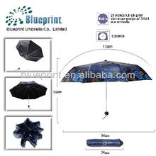 alibaba china oil painting folding hand sun umbrella