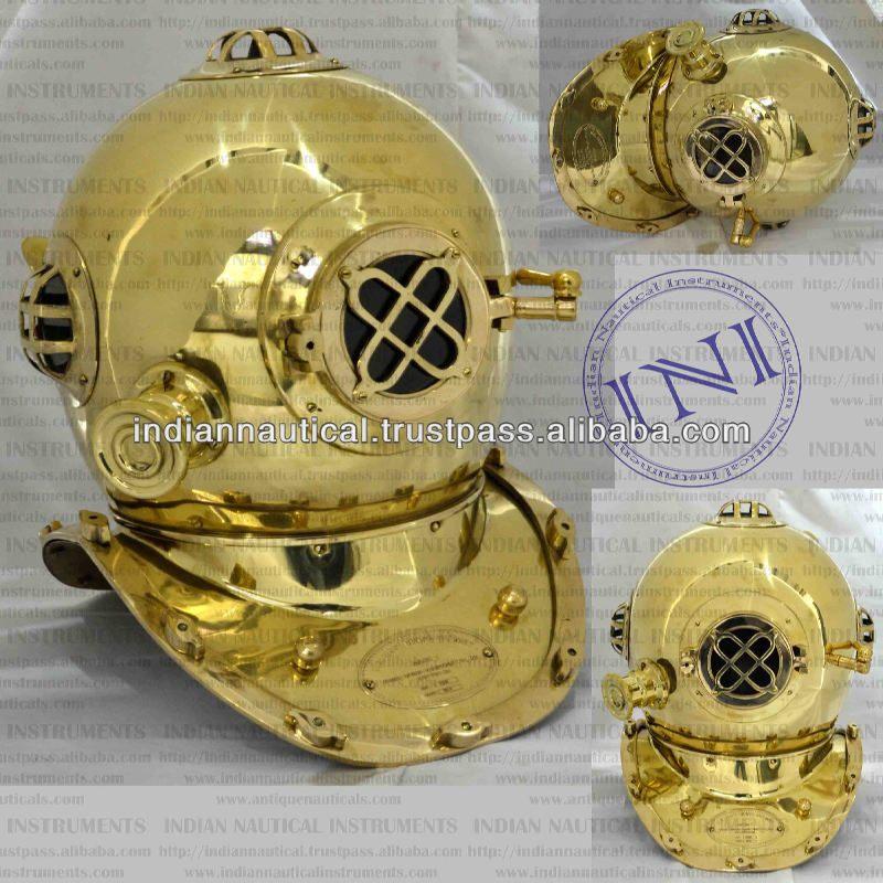 Diving helmet for sale, Brass Diving Helmet, Medieval helmets