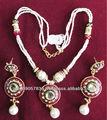 bella 2015 nuovo artificiale collana di perle con orecchino