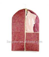 6 Pcs Zipper Clothes Dress Coat Suit Dust Cover