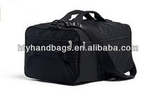 Good quality classical purple trolley travel bag