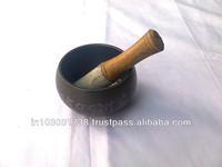 Excellent Tibet Brass Buddhism Singing Bowl