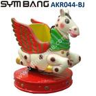 Coin Operated Kiddy Ride - Amusement Game Machine - Pegasus / Flying Horse Kiddie Ride AKR044-BJ