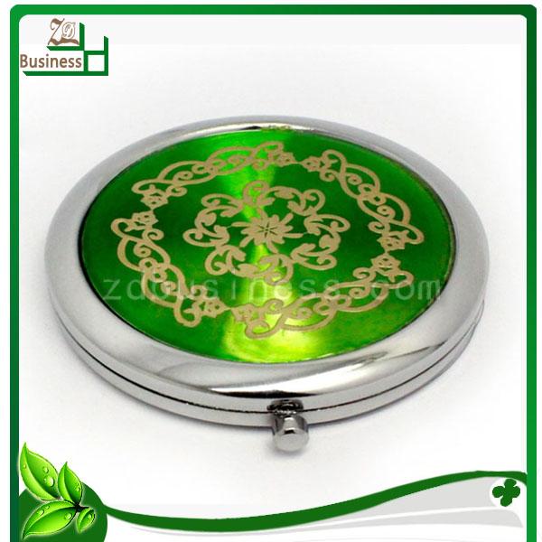 round compact CD souvenir cosmetic mirror