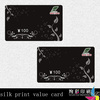 2014 CR80 plastic silk print card