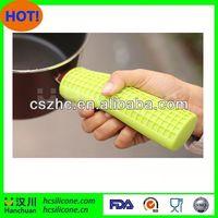 silicon handle sleeve,silicone pot handle cover,cookware silicone pot handle covers