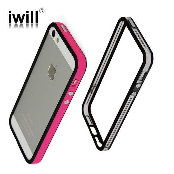 flexible tpu/silicon bumper for apple cellphone case