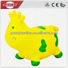 Funny pvc hopper cow