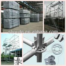 en74 ringlock system scaffolding ladder frame mental scaffolding