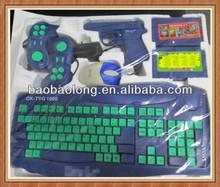 Enhance intelligence 8 bit fashion keyboard game