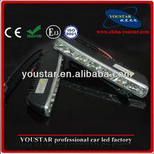 High quality 10-15v Car headlight LED Lamp Daytime Running Light/ LED DRL Light specific