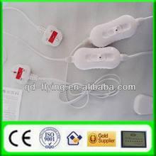 Double temperature control Partition electric blanket