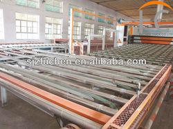 Low energy consumption gypsum board production line