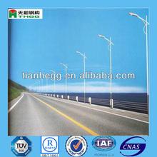 Polygonal Steel Octagonal Round Conical High Mast Street Lighting Pole