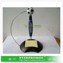 Desktop pen soccer shape as football souvenir