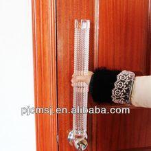 pillar shape of crystal door knob