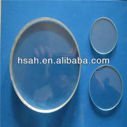 Top quality transparent borosilicate polished round sight glass