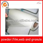 PO/Polyolefin hotmelt adhesive film for glued labels