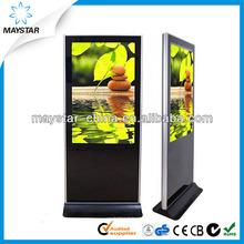 lcd wifi 3g standing advertising marketing equipment