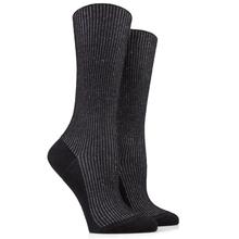 China Sock Wholesaler Pure Angora Wool Handmade Knitting Ladies Black Socks