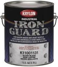 Paint Iron Guard Acrylic Enamel Latex 1 Gal White