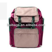 Splendid Korea Backpack With Front Multi-pocket