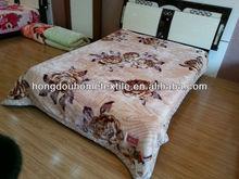 Korean style 100% polyester blanket & acrylic blanket -2014 new designs