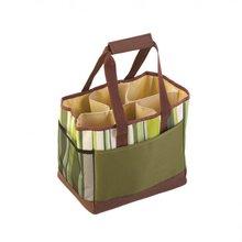 Sectional Reusable Green Shopping Bag