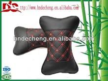 Car interior accessory leather car head pillow headrest pillow neck pillow