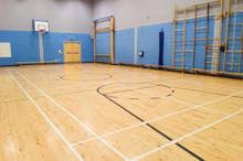 basket ball court construction