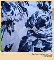 pintura estilo impressos cetim de algodão tecido da camisa