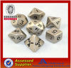 Top Quality New Custom Silver Metal Dice