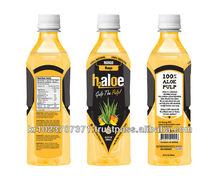 h2 Aloe Juice with Aloe vera pulp 500ml - Mango Flavor